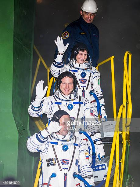 In this handout provided by the National Aeronautics and Space Administration Expedition 42 Flight Engineer Samantha Cristoforetti of the European...