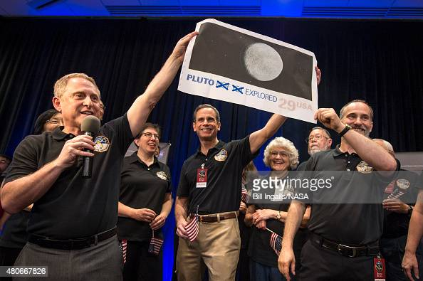 In this handout provided by the National Aeronautics and Space Administration New Horizons Principal Investigator Alan Stern of Southwest Research...