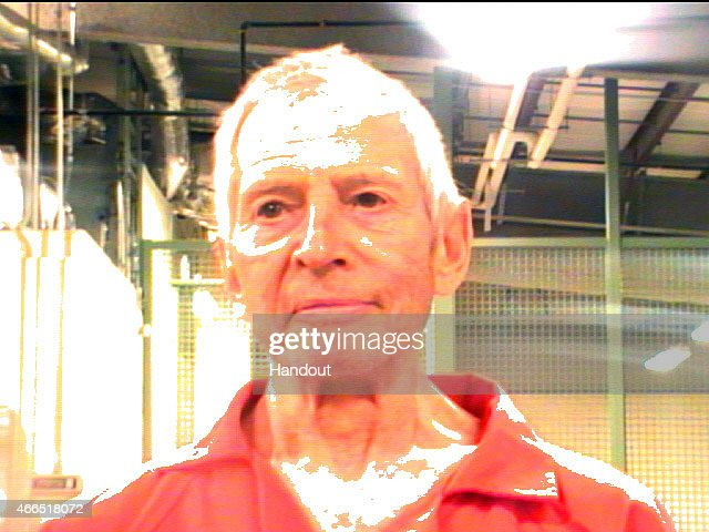 In this handout provided by the Orleans Parish Sheriffs Office, OPSO, Robert Durst poses for a mugshot photo after being arrested and detained March 14, 2015 in New Orleans, Louisiana. Family member of a prominent New York City real estate empire and subject of a HBO series, Durst has been arrested on a first-degree murder warrant issued by police in Los Angeles related to the death of his friend, Susan Berman.