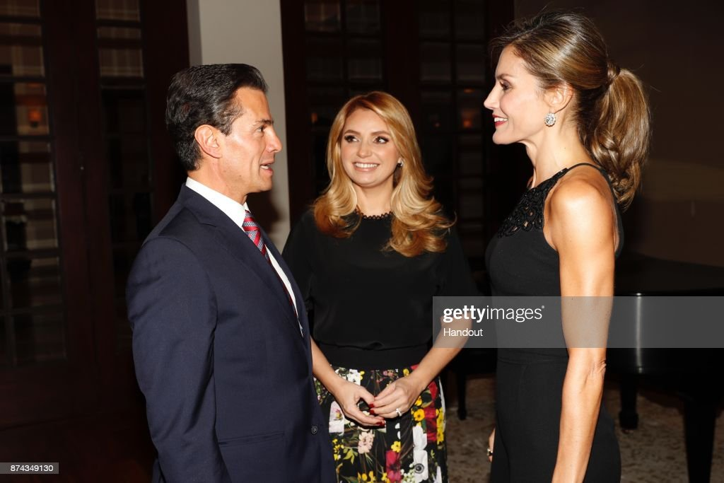 Queen Letizia Of Spain Meets President of Mexico