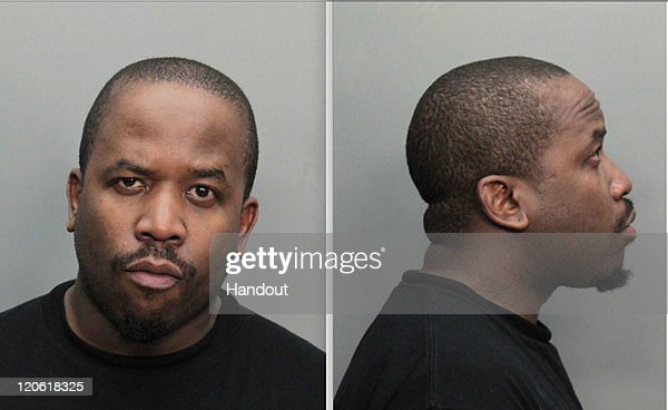 In this image provided by the Miami-Dade County Corrections and Rehabilitation Department, Antwan Patton, also known as Big Boi of the rap group Outkast, was arrested on alleged drug possession charges on August 7, 2011in Miami, Florida.