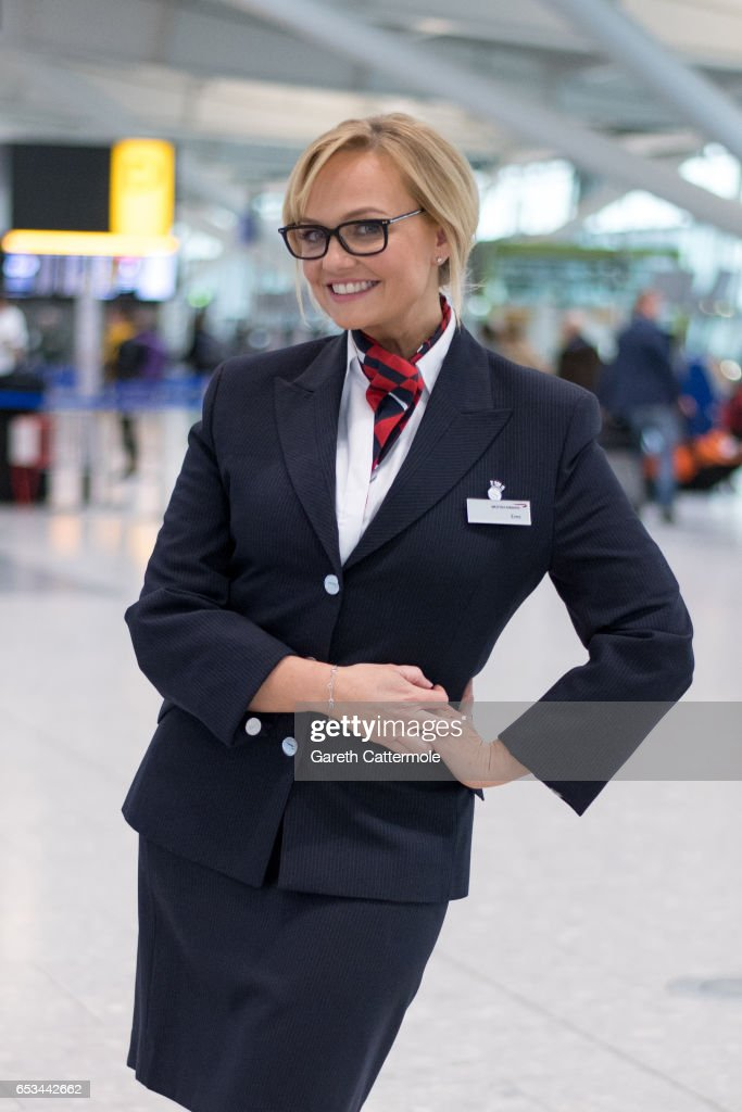 David Walliams, Emma Bunton And Tom Daley Take Part In British Airways, Red Nose Day Campaign Launching March 15th 2017