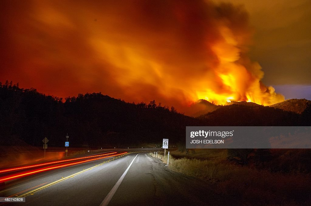 Rocky Fire Expands To 65 000 Acres In Drought Ridden Northern California Ge