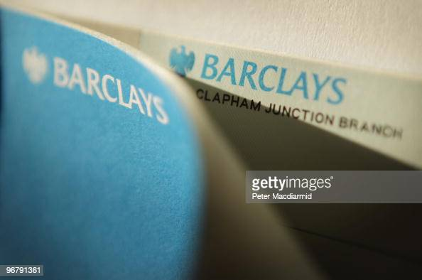 In this photo illustration a Barclay's Bank personal account cheque book is opened on February 17 2010 in London England As the UK gears up for one...