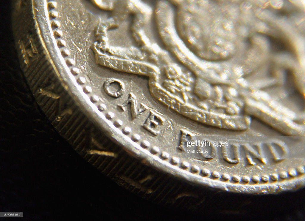 In this photo illustration a British Pound coin is seen on December 17, 2008 in Bristol, England. The British pound is currently at its lowest value ever against the Euro, trading below 1.10 Euros this morning, after it was revealed that the Bank of England considered a bigger interest rate than the one delivered two weeks ago.