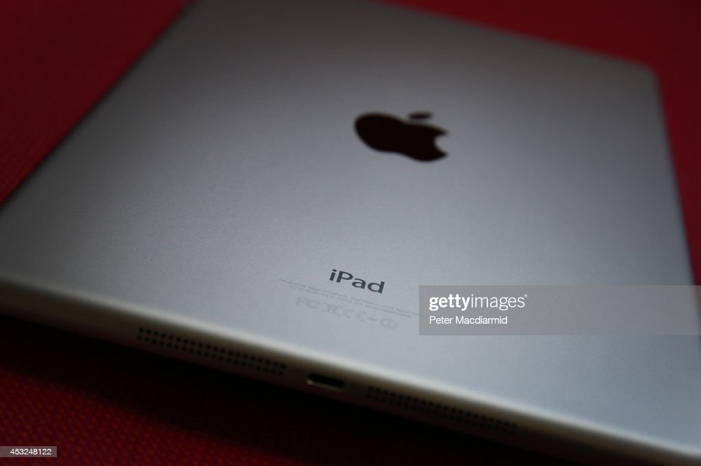 In this photo illustration an Apple iPad is seen on August 6, 2014 in London, England. iPad maker Apple is selling fewer units than in the same quarter in 2013, it is reported.