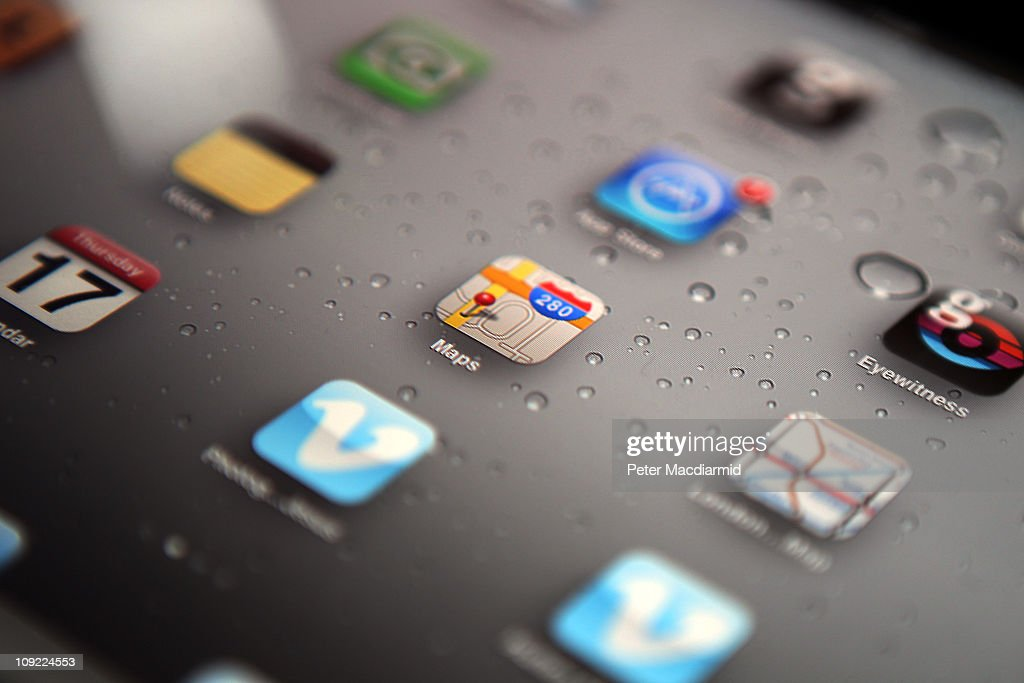 In this photo illustration, an Apple ipad tablet displays apps on it's home screen on February 17, 2011 in London, England. Apple sold two million ipads in the first two months of their launch in 2010. Worldwide iPad sales are expected to amount to 20 million in 2012.