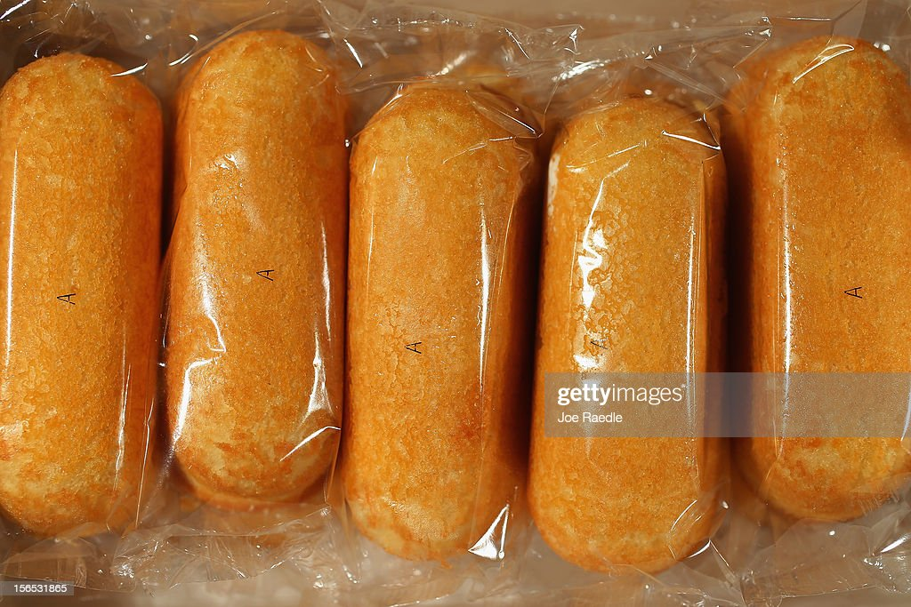 In this photo illustration, Hostess Brands Twinkies are shown in an open box on November 16, 2012 in Miami, Florida. Hostess Brands Inc. decided to liquidate its business after striking workers with the Bakery, Confectionery, Tobacco Workers and Grain Millers International Union didn't return to normal work levels as the company management had demanded.