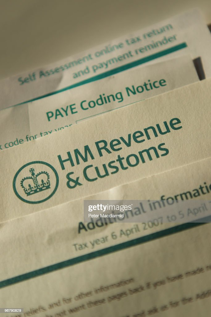 In this photo illustration personal income tax documents are displayed together on February 17 2010 in London England As the UK gears up for one of...