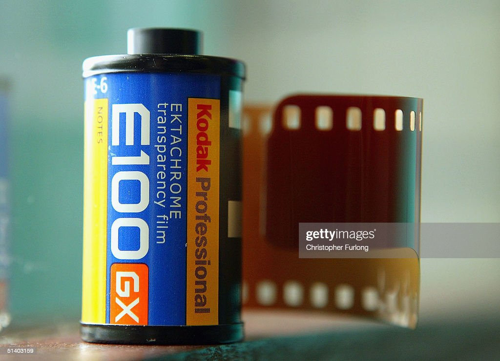In this photo illustration products from the photographic company Kodak are displayed following the announcement on October 5, 2004, that the company are to cut 600 jobs from the UK and close the Nottinghamshire factory. The cut backs are part of a global restructuring plan that the US-based firm unveiled earlier this year. Kodak has been hit hard in the market of traditional camera film for the transition to the digital format.