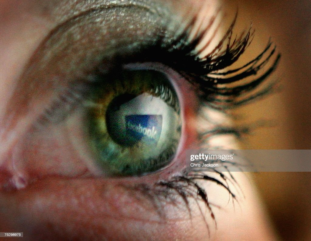 In this photo illustration the Facebook logo is reflected in an eye on July 10, 2007 in London, England. Facebook has been rapidly catching up on MySpace as the premier social networking website and as of July 2007 was the secondmost visited such site on the World Wide Web. Started by 22 year old Harvard dropout Mark Zuckerberg, the website is responsible for 1% of all internet traffic and is the sixth most visited site in the USA.