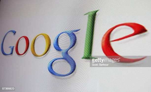In this photo illustration the logo of the multifacetted internet giant Google is displayed on a computer screen on April 13 2006 in London England