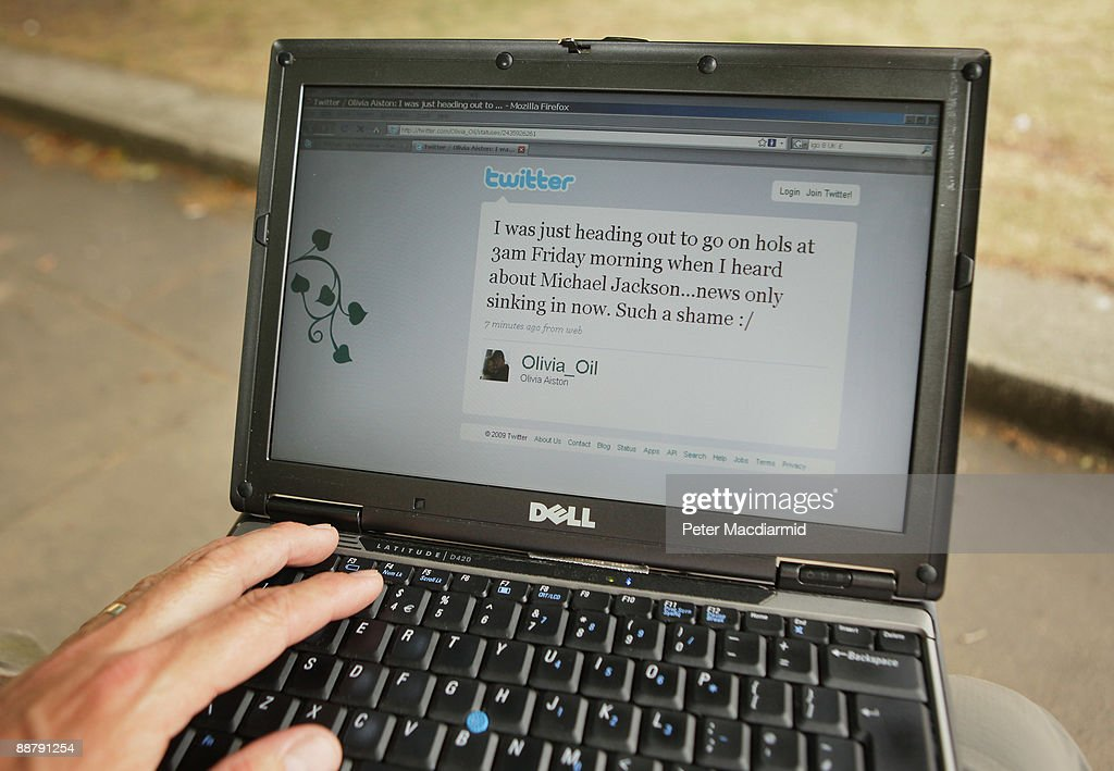 In this photo illustration the Twitter website is displayed on a laptop computer on July 2, 2009 in London. The social network site, started in 2006 in California as a sideline project, has grown into a global brand becoming one of the fastest growing phenomenas of the Internet.