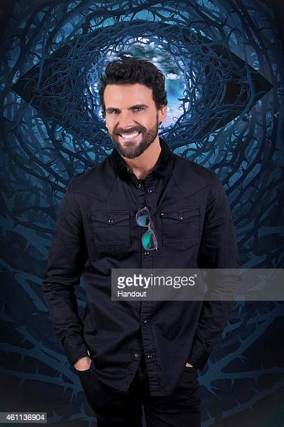 In this photo provided by Channel 5 Celebrity Big Brother 2015 housemate Jeremy Jackson poses for a photo ahead of the launch of the Channel 5...