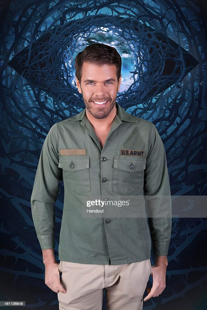 In this photo provided by Channel 5 Celebrity Big Brother 2015 housemate Perez Hilton poses for a photo ahead of the launch of the Channel 5 reality...