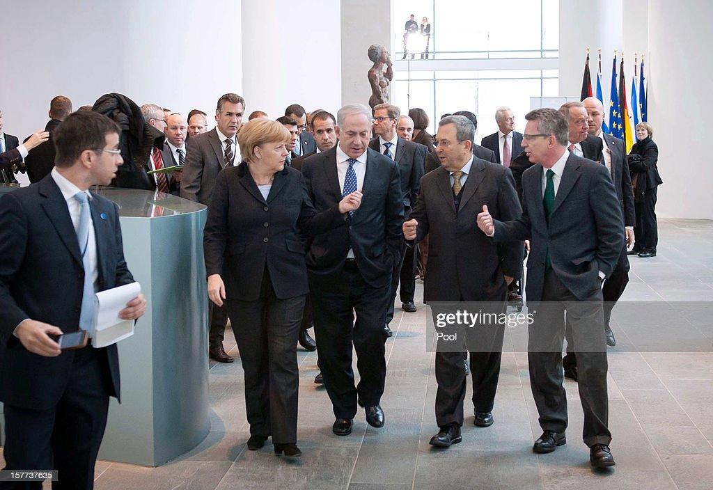 Netanyahu Visits Berlin For German-Israeli Government Consultations