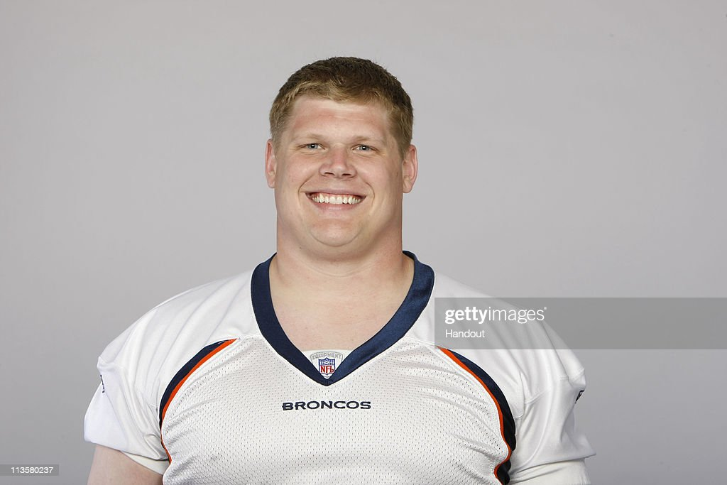 In this photo provided by the NFL, <a gi-track='captionPersonalityLinkClicked' href=/galleries/search?phrase=Chris+Kuper&family=editorial&specificpeople=469695 ng-click='$event.stopPropagation()'>Chris Kuper</a> of the Denver Broncos poses for his 2010 NFL headshot circa 2010 in Englewood, Colorado.