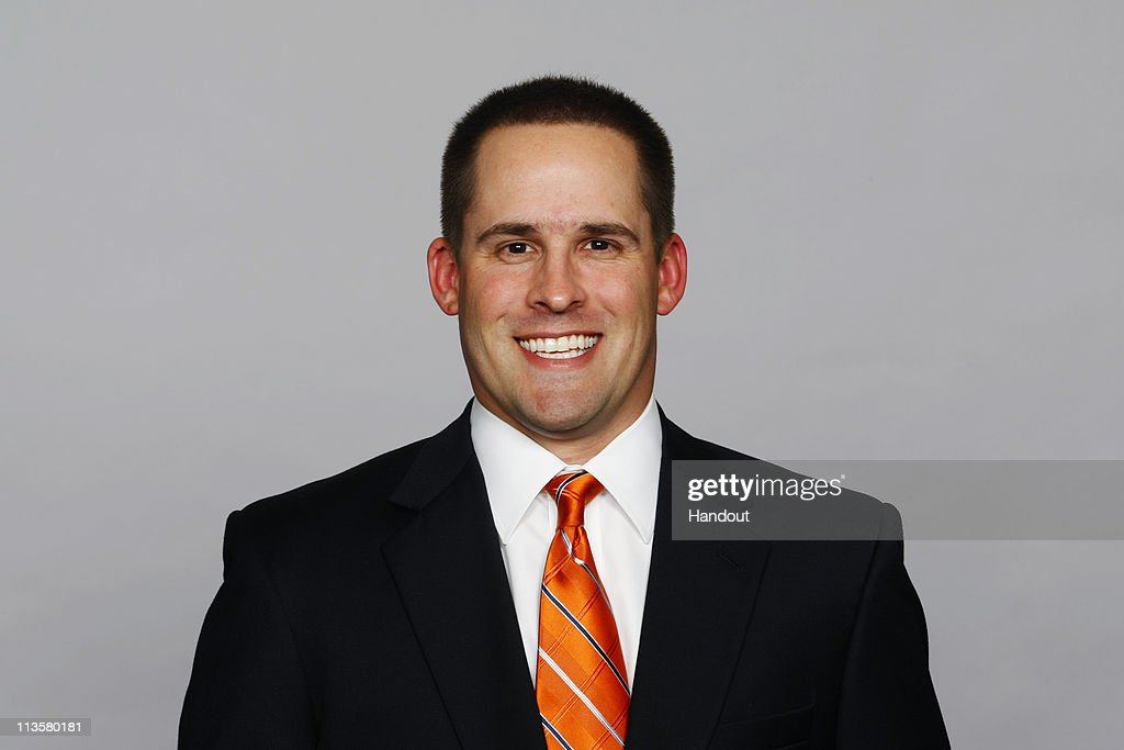 In this photo provided by the NFL, <a gi-track='captionPersonalityLinkClicked' href=/galleries/search?phrase=Josh+McDaniels&family=editorial&specificpeople=749107 ng-click='$event.stopPropagation()'>Josh McDaniels</a> of the Denver Broncos poses for his 2010 NFL headshot circa 2010 in Englewood, Colorado.