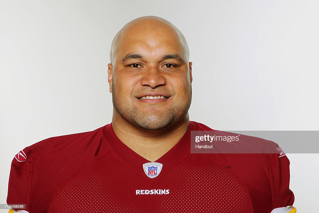 In this photo provided by the NFL Maake Kemoeatu of the Washington Redskins poses for his 2010 NFL headshot circa 2010 in Washington DC