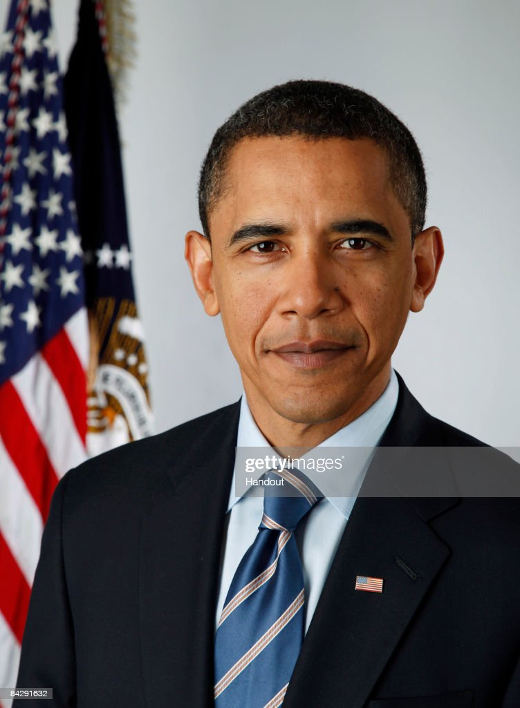 In this photo provided by the Obama Transition Office, U.S. President-elect Barack Obama poses for an official portrait on January 13, 2009 in Washington, DC. On January 20 Obama will be sworn in as the nation's 44th president.