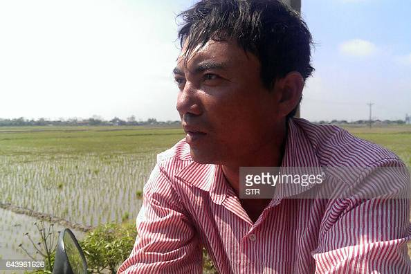 In this photo taken on February 19 Doan Van Binh elder brother of Doan Thi Huong a Vietnamese woman accused of having taken part in the assasination...