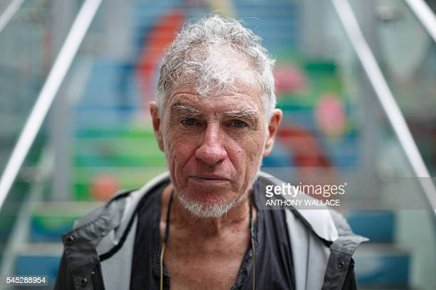 In this picture taken on June 13 celebrated cinematographer Christopher Doyle a longterm Hong Kong resident bestknown for his work with director Wong...