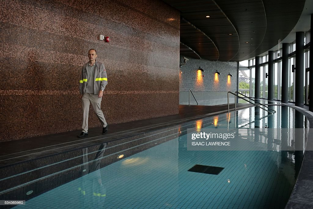 In This Picture Taken On May 25 Vincent Deleu Project Manager At The Pictures Getty Images