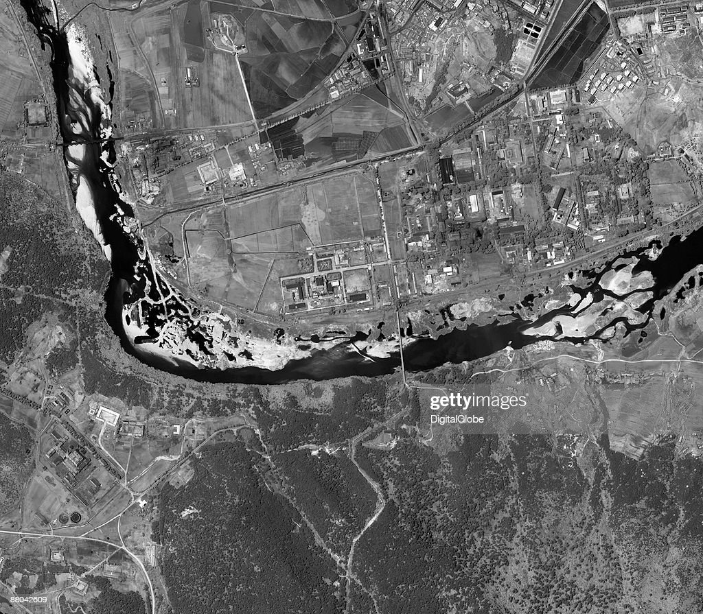 In this satellite image the Yongbyon nuclear facility is seen on May 14 2009 in Yongyon North Korea North Korea has announced that it successfully...