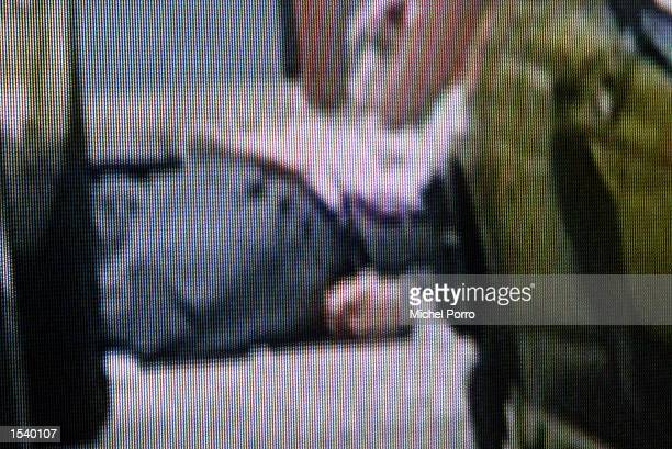 In this still frame taken from Dutch television medics attempt to resuscitate the lifeless body of Dutch rightwing politician Pim Fortuyn after he...