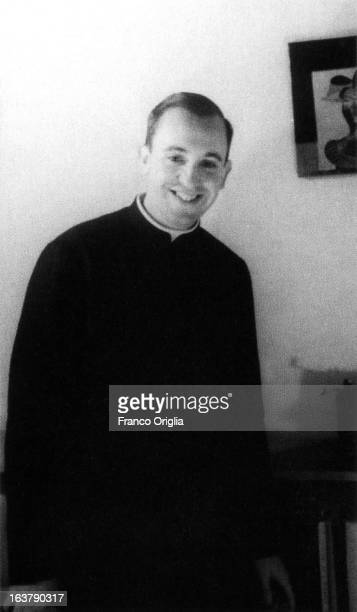 UNDATED In this undated collect photograph courtesy of the Jesuit General Curia in Rome the Jesuit priest Jorge Mario Bergoglio poses The Argentinian...
