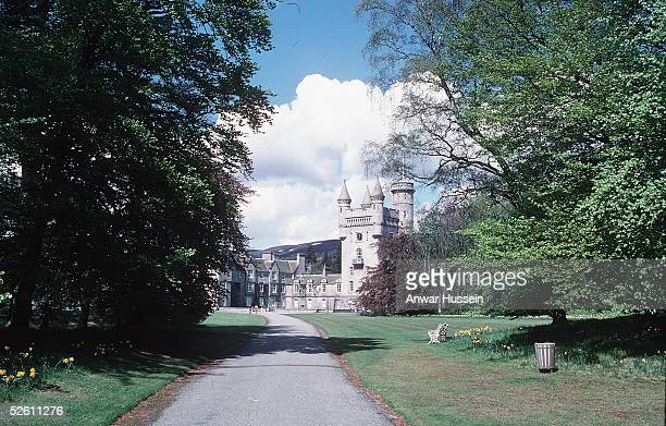 In this undated file photo Barmoral castle is seen in Balmoral Scotland Prince Charles and The Duchess of Cornwall Camilla Parker Bowles are spending...