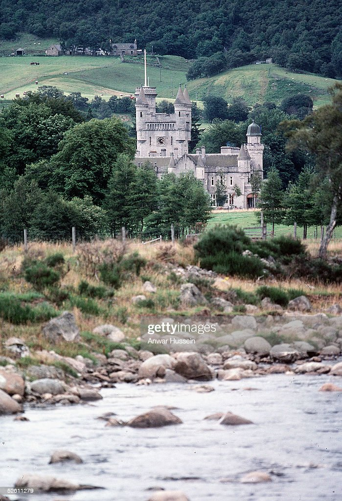 In this undated file photo the River Dee is seen in front of Barmoral castle in Balmoral, Scotland. Prince Charles and The Duchess of Cornwall, Camilla Parker Bowles are spending their honeymoon at Balmoral following their wedding on April 9, 2005.