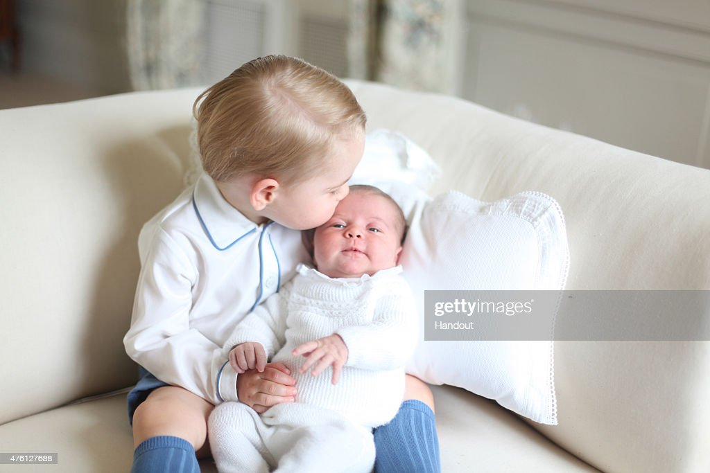 In this undated handout image released by the Duke and Duchess of Cambridge, Prince George and Princess Charlotte at Anmer Hall in mid-May in Norfolk, England. . This photograph is provided to you strictly on condition that you will make no charge for the supply, release or publication of it and that these conditions and restrictions will apply (and that you will pass these on) to any organisation to whom you supply it. All other requests for use should be directed to the Press Office at Kensington Palace in writing.
