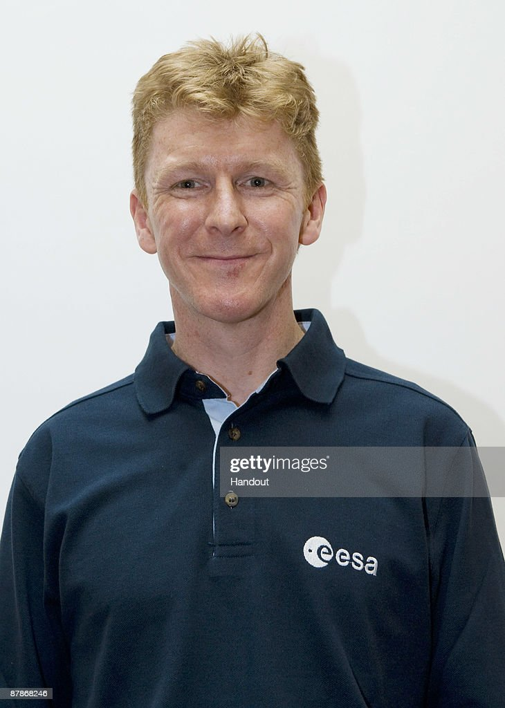 In this undated handout photo provided by the European Space Agency (ESA), <a gi-track='captionPersonalityLinkClicked' href=/galleries/search?phrase=Timothy+Peake&family=editorial&specificpeople=5862798 ng-click='$event.stopPropagation()'>Timothy Peake</a> poses for a photograph at ESA Headquarters in Paris, France. <a gi-track='captionPersonalityLinkClicked' href=/galleries/search?phrase=Timothy+Peake&family=editorial&specificpeople=5862798 ng-click='$event.stopPropagation()'>Timothy Peake</a> ws born in 1972 in Chichester, United Kingdom and will become the country's first official astronaut. He took a degree in flight dynamics and evaluation, is a qualified Full Experimental Test Pilot of the Empire Test Pilot School and an officer with Her Majesty's Armed Forces, where he is an Experimental Test Pilot.