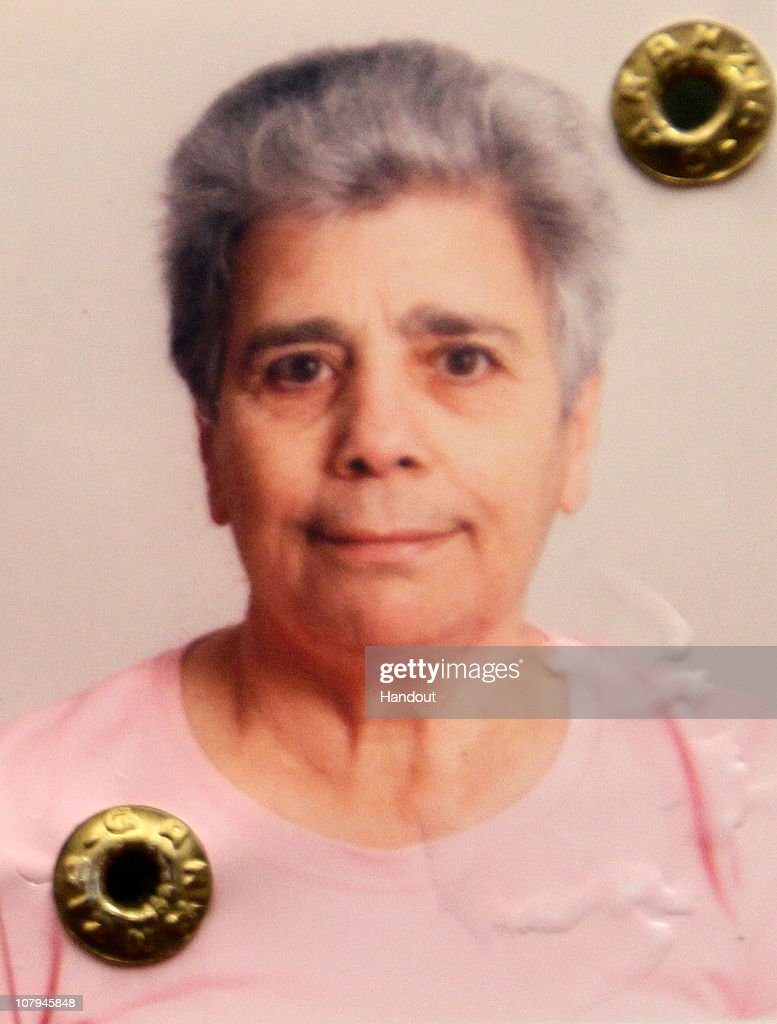 In this undated handout photo supplied on January 9, 2011 by Polizia di Stato, Antonina Scinta one of the victims and wife of the Italian killer Carlo Trabona is pictured. Carlo Trabona, a 74-year-old retired bricklayer, has shot dead two of his neighbours and then killed his wife, before shooting himself after being surrounded by the Police in Genoa. Police suspect Jealousy, over alleged infidelity by Trabona's wife, was the motive for the murders.