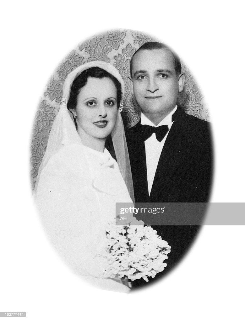In this undated photo Cardinal Jorge Mario Bergoglio's mother Regina Maria Sivori and father Mario Jose Francisco on their wedding day.