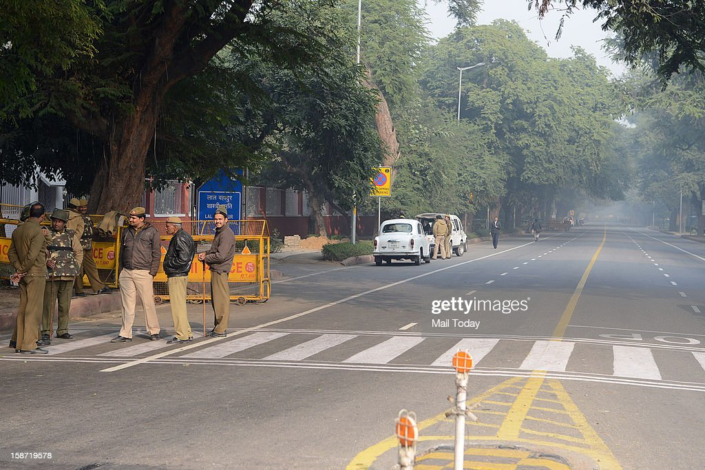In wake of the protests at India Gate, Delhi police imposed restriction in all high profile areas of New Delhi on Monday including 7 RCR affecting traffic and pedestrian movement.