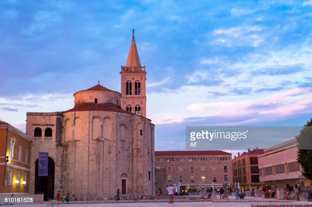 ST DONATUS CHURCH in Zadar  , Croatia