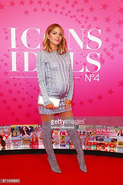 Ina Aogo attends the InTouch Awards 'Icons Idols' at Nachtresidenz on September 29 2016 in Duesseldorf Germany