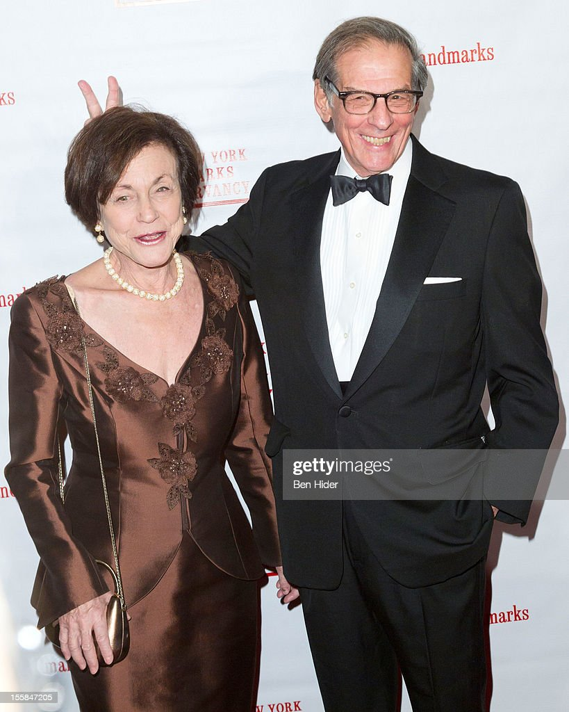 Ina Caro and author Robert Caro attend the 2012 Living Landmarks Celebration at The Plaza on November 8, 2012 in New York City.