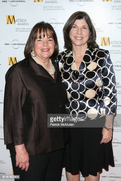 Ina Garten and Anna Quindlen attend New York WOMEN IN COMMUNICATIONS Presents The 2010 MATRIX AWARDS at Waldorf Astoria on April 19 2010 in New York...
