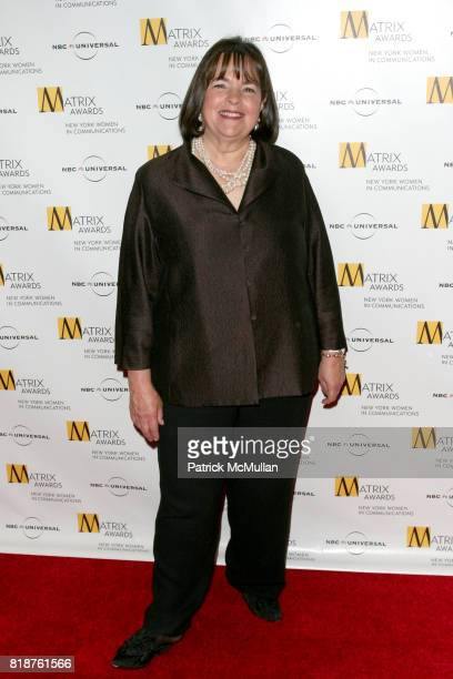 Ina Garten attends New York WOMEN IN COMMUNICATIONS Presents The 2010 MATRIX AWARDS at Waldorf Astoria on April 19 2010 in New York City