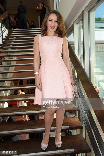 Ina Menzer attends the 25th Anniversary Of DKMS on May 27 2016 in Berlin Germany