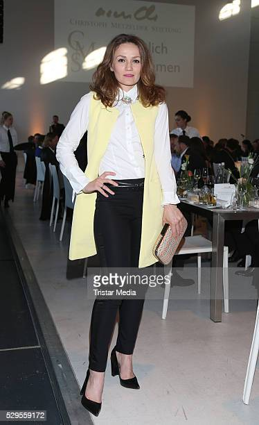 Ina Menzer attends the 8th Golf Charity Cup By The Christoph Metzelder Foundation Pre Golf Party on MAY 08 2016 in HAmburg Germany