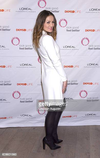 Ina Menzer attends the DKMS Life Charity Ladies Lunch at Henssler Kueche on December 8 2016 in Hamburg Germany