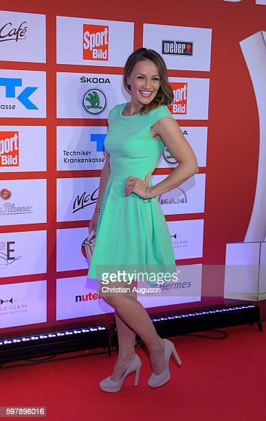 Ina Menzer attends the Sport Bild Award at the Fischauktionshalle on August 29 2016 in Hamburg Germany