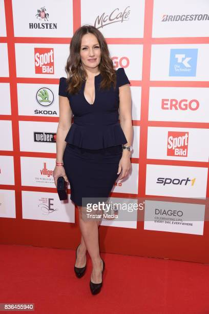 Ina Menzer attends the Sport Bild Award on August 21 2017 in Hamburg Germany