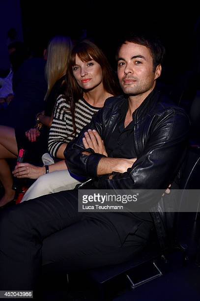 Ina Paule Klink and Nicolai Kinski attend the Michalsky Style Night at Tempodrom on July 11 2014 in Berlin Germany