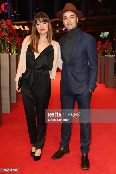 Ina Paule Klink and Nikolai Kinski attend the 'The Dinner' premiere during the 67th Berlinale International Film Festival Berlin at Berlinale Palace...