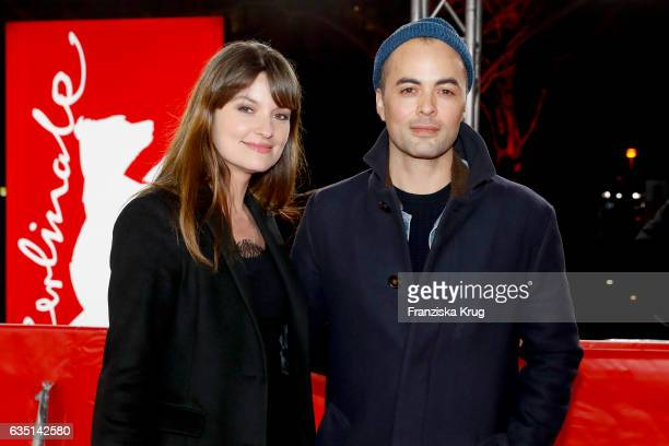 Ina Paule Klink and Nikolai Kinski attend the 'The Queen of Spain' premiere during the 67th Berlinale International Film Festival Berlin at...